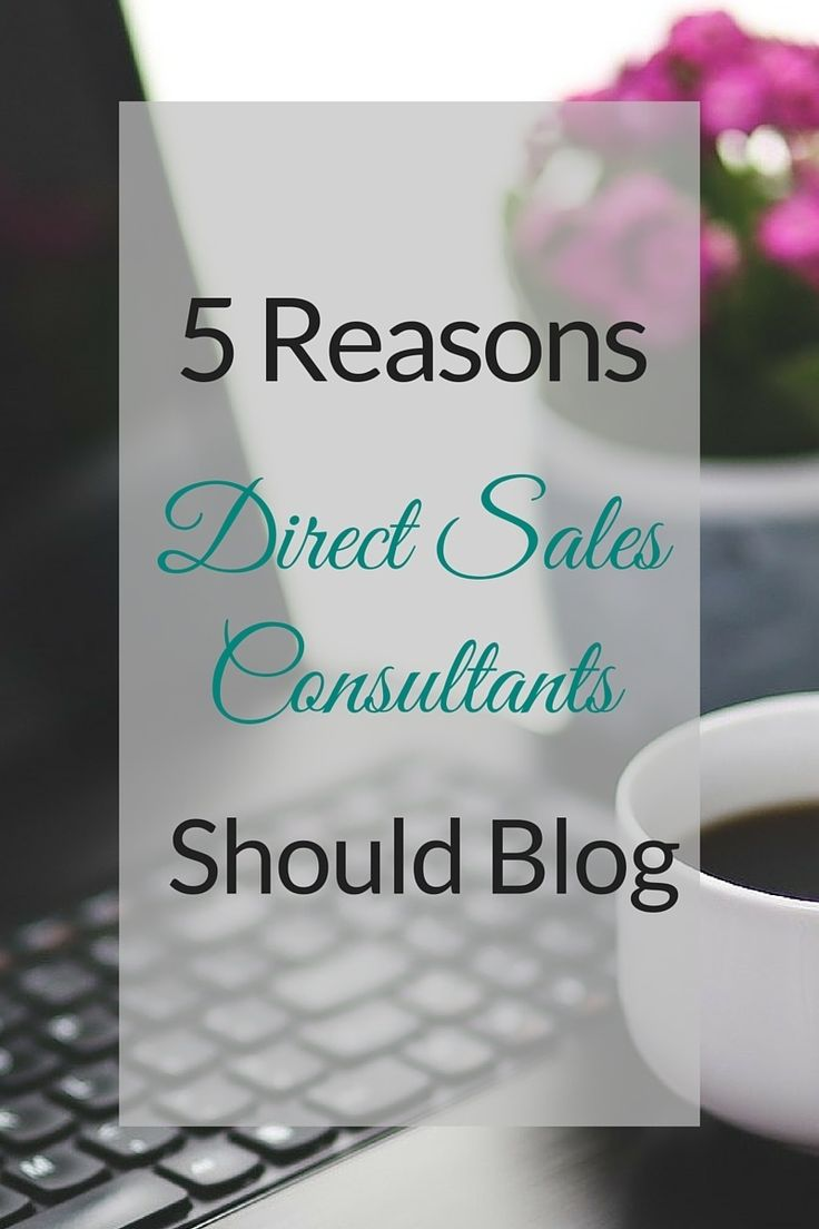 Direct Sales Consultants should host their own blog to answer questions, support their customers and teams, and attract potential new consultants by developing relationships. http://blog.smamarketing.net/should-i-have-a-blog-for-my-direct-sales-business #directsales #blogging