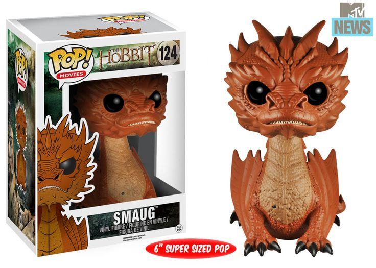 Sauron and Smaug go adorable for Funko's 'The Hobbit:The Battle of Five Armies' Figures. (2 different eye styles for Smaug)