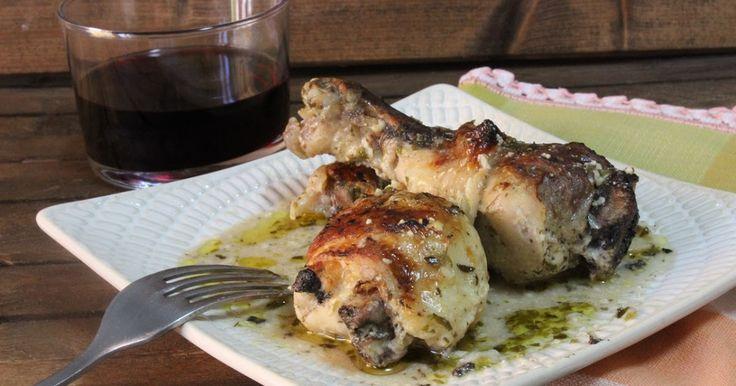 @juliaromeroamar  para #RecetarioMañoso: Pollo estilo griego