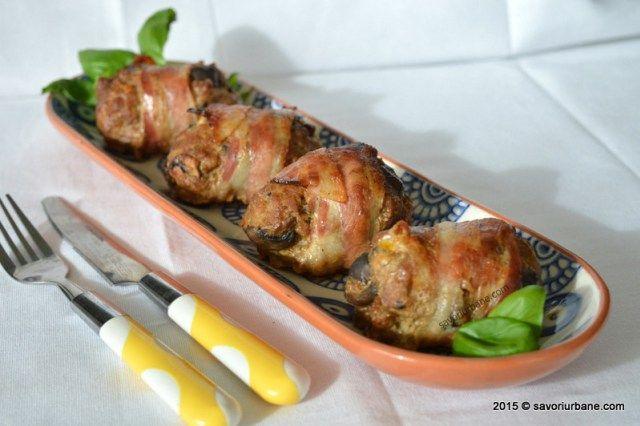 Chiftele cu ciuperci la cuptor Savori Urbane