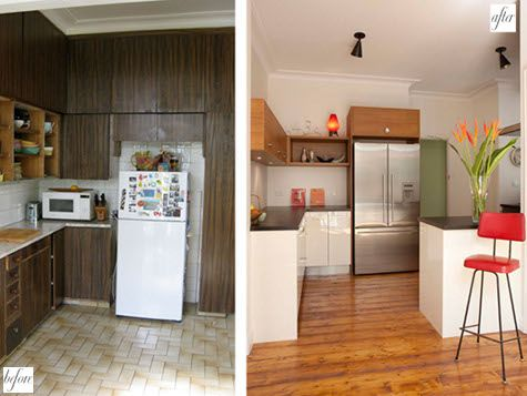 Kitchen makeover into modern kitchen http www interior design