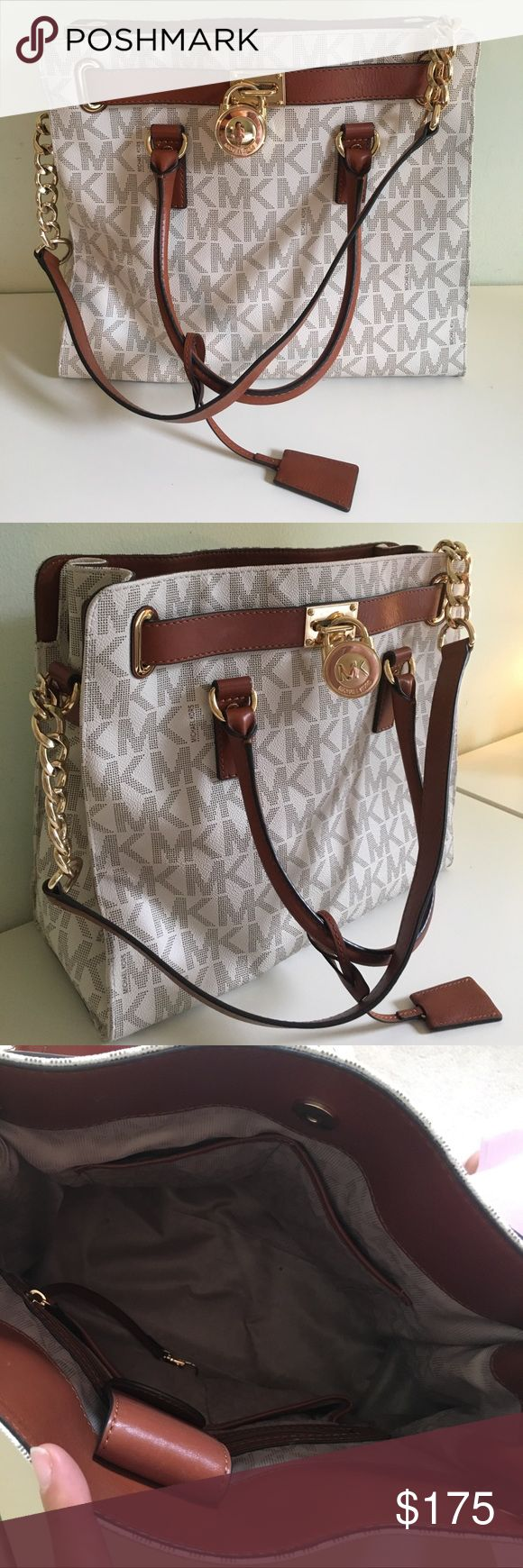 Michael Kors Hamilton Purse Received as a present. Beautiful handbag. Only used a handful of times. Michael Kors Bags