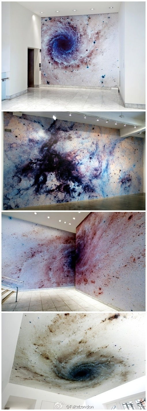 ✦ Star Galaxy Space (2006) ✦ my jaw dropped! I want to do this but I will never be able to get that opportunity! So cool