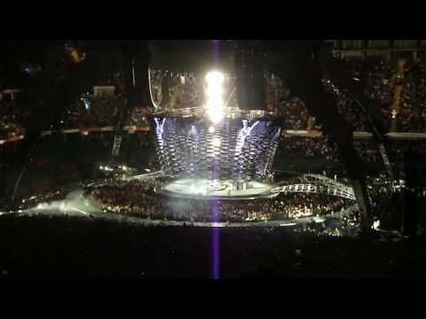 U2 Cardiff 22 August 2009 Vertigo multicam preview - YouTube