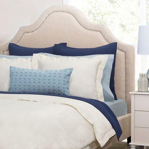 Bedroom inspiration and bedding decor | The Peninsula Cream Duvet Cover | Crane and Canopy