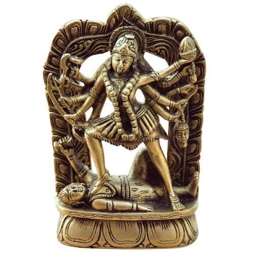 Amazon.com: Kali Figurine Brass Religious Sculpture: Home & Kitchen