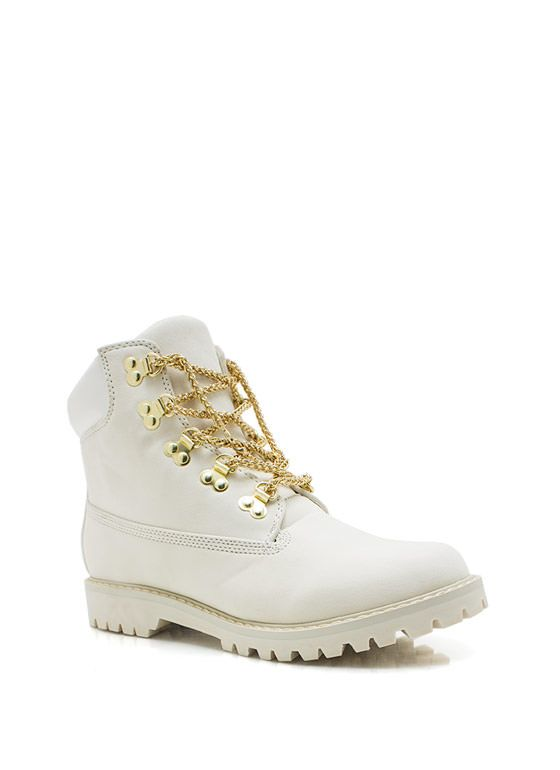 Chain-ge-Of-Pace-Work-Boots BLACK CAMEL WHITE - GoJane.com from GoJane