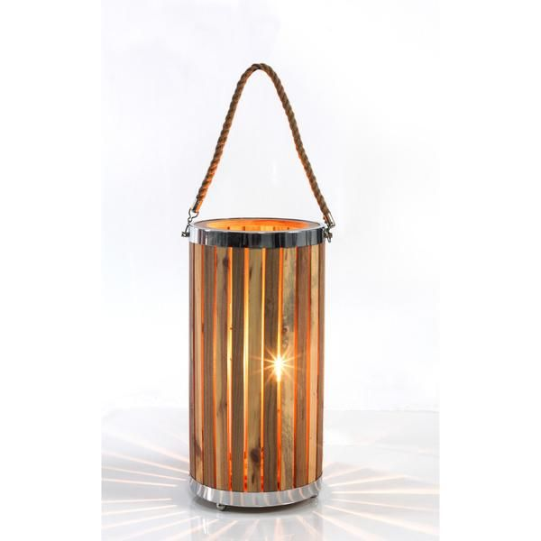 Large Standing Wooden Lamp – Click Online Sales