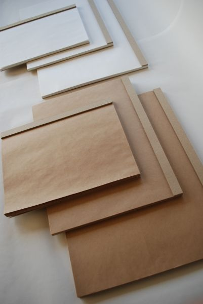horizontal kraft paper drawing pads