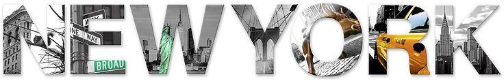Diese rückseitig bedruckten Acrylbuchstaben sind nicht nur einfache Dekobuchstaben. Mit ihnen entdecken Sie ein Stück New York.  Inklusive 9 Klebepads zum Aufhängen.  Artikeldetails:  Größe: (B/H): 100/15 cm,  Material/Qualität:  Acryl,  Qualitätshinweise:  Hochwertig bedruckte Acrylbuchstaben in 4 mm Stärke, Hohe Farbechtheit und Farbsättigung,  Wissenswertes:  Inkl. 9 Klebepads,  ...