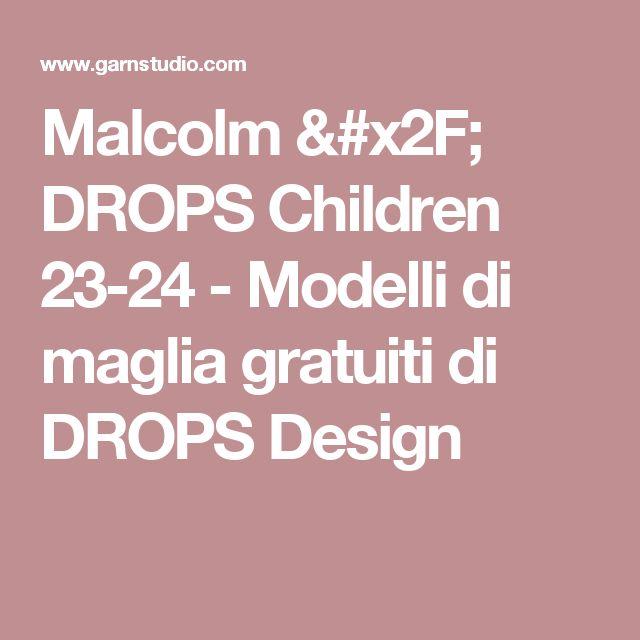Malcolm / DROPS Children 23-24 - Modelli di maglia gratuiti di DROPS Design