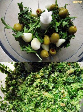 Pesto z rukoli i pestek słonecznika | szczypta-wege przepisy wegańskie i wegetariańskie - zdrowe pomysły na obiad i inne okazje