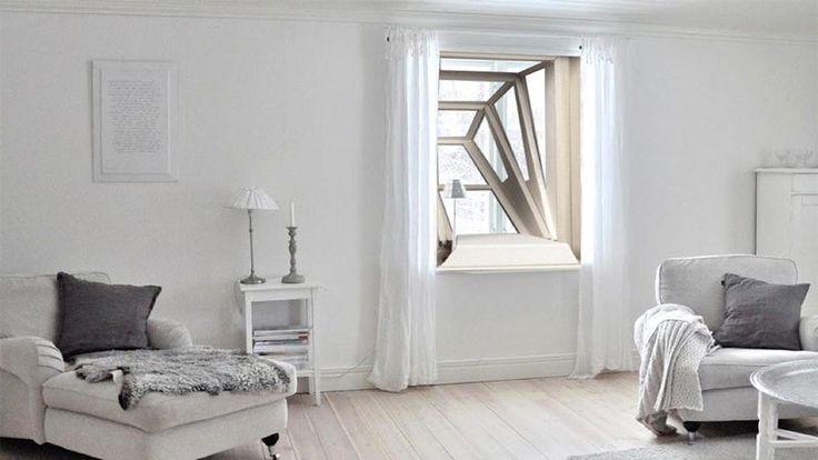 EN IMAGES - Une architecte et designer argentine a inventé des fenêtres pour permettre aux minuscules appartements urbains de gagner un peu d'espace et de lumière supplémentaire vers l'extérieur du bâtiment.