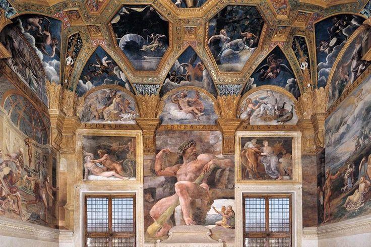 Palazzo Del Te, Giulio Romano, Frescoes, 1524
