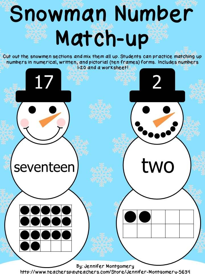150 best Winter Educational Activities images on Pinterest ...