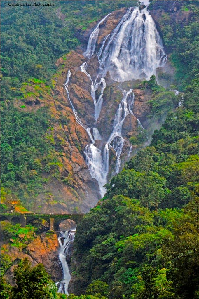 Dudhsagar waterfalls - Goa, India