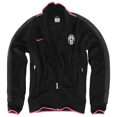 Juventus black line up jacket 11/12 €80
