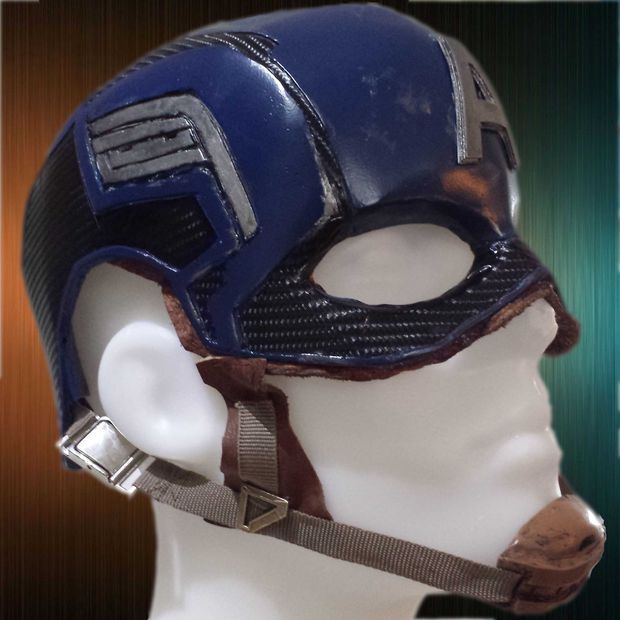 Captain America Helmet Using Many Materials Costumes Captain