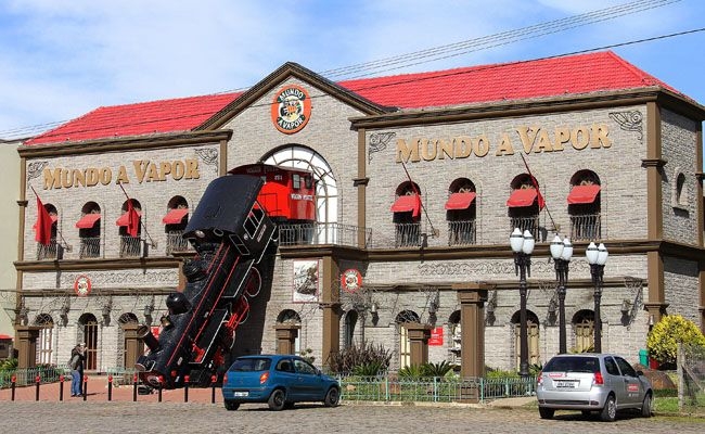 Museu do Vapor, Canela, Brasil