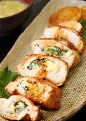 鶏胸肉の大葉チーズ挟み焼き by あぽももこ [クックパッド] 簡単おいしいみんなのレシピが246万品