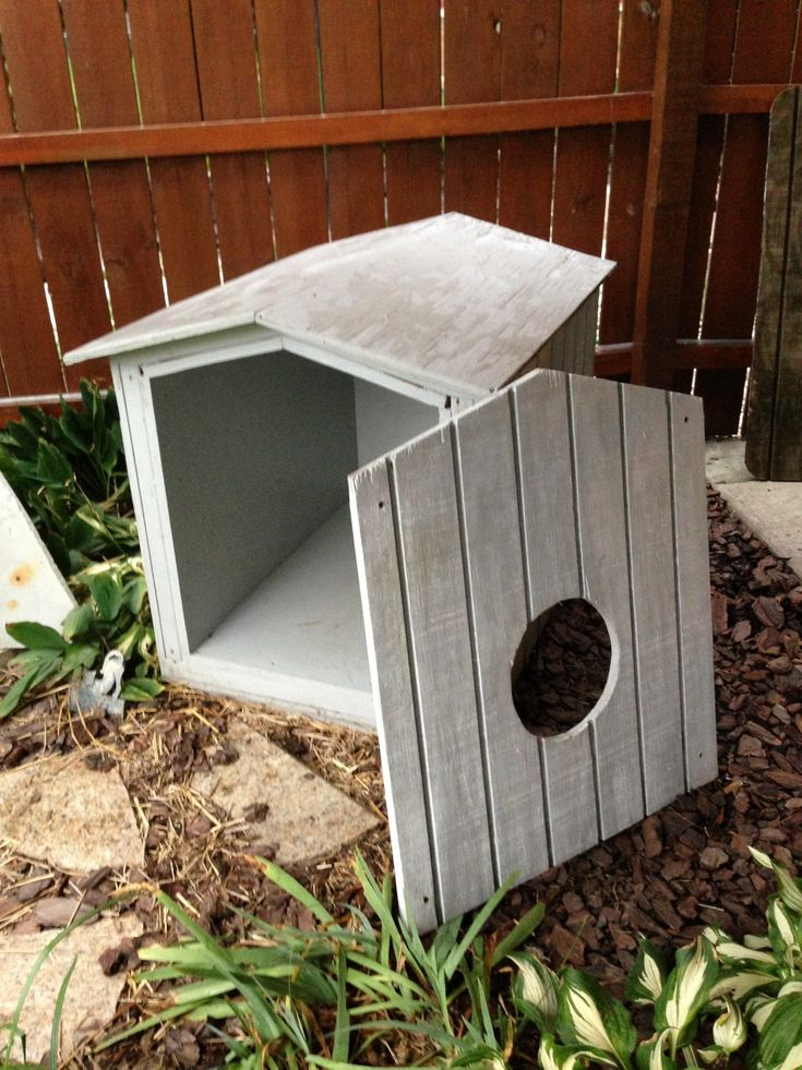 How We Made Heated Outdoor Cat Shelters Cat shelter