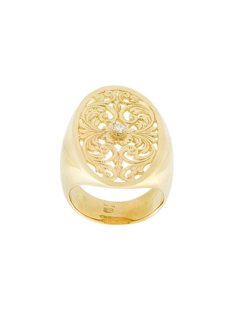 Wouters & Hendrix Gold filigree diamond signet ring  rings for women fashion | rings for women wedding | rings for women simple | rings for women promise | rings for women unique | Rings for women |  gold ring wreath | gold ring simple | gold ring engagement | gold ring set | gold ring stack | Gold Ring Group | Gold Ring Shop by Smaug | Gold Ring Entertainment | Gold ring ideas | Gold Ring Design |
