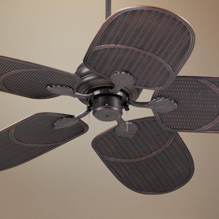 52 Casa Vieja Tropical Veranda Bronze Outdoor Ceiling Fan: Coastal . Zen Images On Pinterest