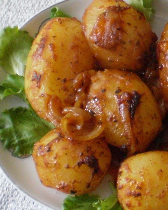 Ziemniaki pieczone w rękawie foliowym :: Doskonałe w smaku .Proste w przygotowaniu.