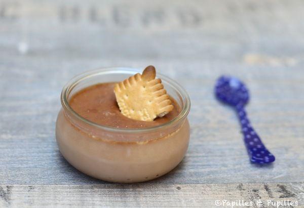 Crème au chocolat et petit-beurre