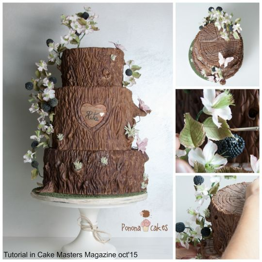 prettiest fall cakes | Autumn at its best - Cake Masters Magazine - TUTORIAL OCTOBER 2015 ...