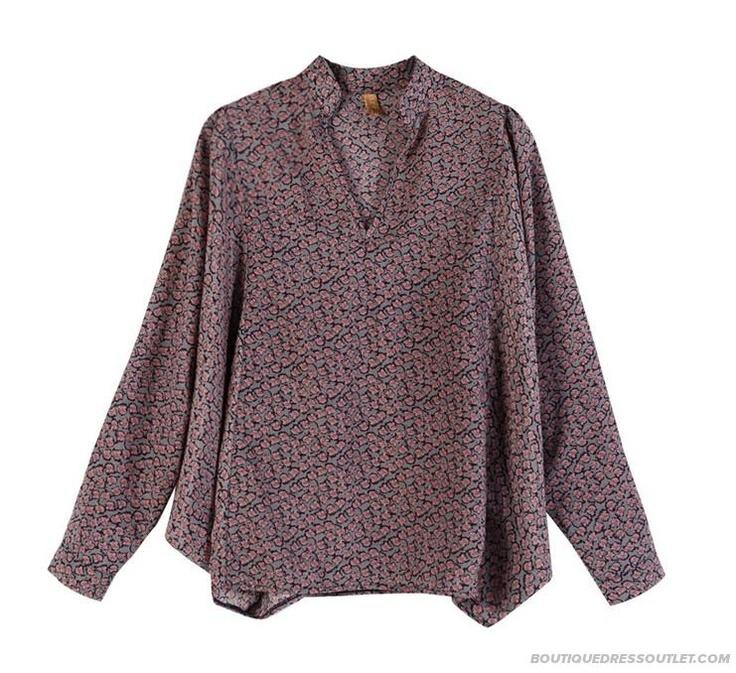 Autumn Loose Bat Sleeve Shirt