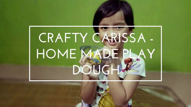 Crafty Carissa - Home made play dough