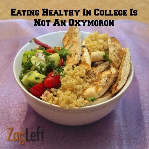 Best 25 healthy college eating ideas on pinterest college food eating healthy in college is not an oxymoron ccuart Gallery