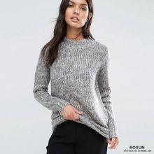 Rosun Super suave Rollo de Punto Grueso Suéter de Cuello