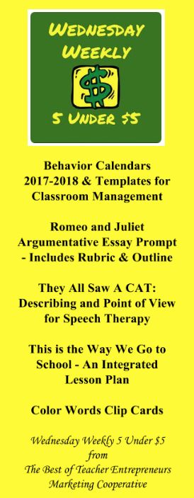 the best essay outline template ideas opinion wednesday weekly 5 under 5 8 30 17 behavior calendars 2017 2018 templates for classroom management romeo and juliet argumentative essay prompt