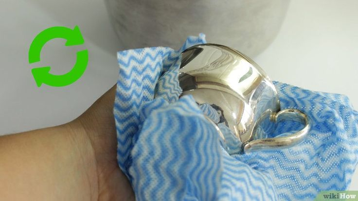 how to clean sterling silver without baking soda