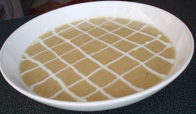Radość gotowania: Zupa krem z pieczonego kalafiora
