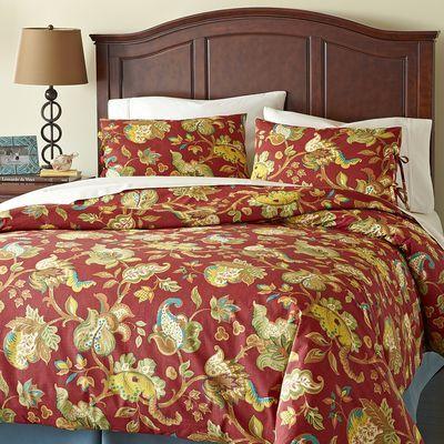 Pier 1 Scarlett Floral Bedding Comforter