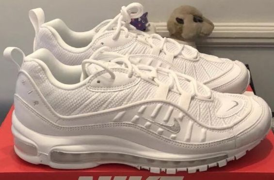 First Look: Nike Air Max 98 Triple White