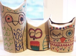 12 best images about junk modelling on pinterest for Toilet paper tube owls