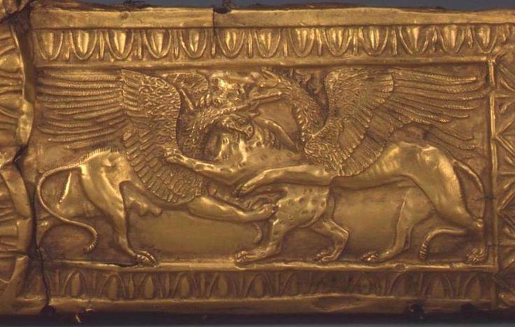 Скифское золото Goryt Наложение, 4 век до н.э. Найдено ... У древних и средних веков