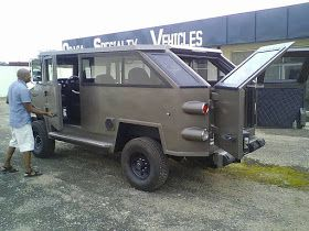 Photos Of Solid Security Vehicles Made By Two Brothers From Ekiti State.  Whatsapp / Call 2349034421467 or 2348063807769 For Lovablevibes Music Promotion Here are photos of 'Made in Nigeria' security vehicles reportedly produced by two brothers from Ijero Ekiti Ekiti state.. According to the online user who shared these the vehicles are very strong and durable. See photos below;  NEWS