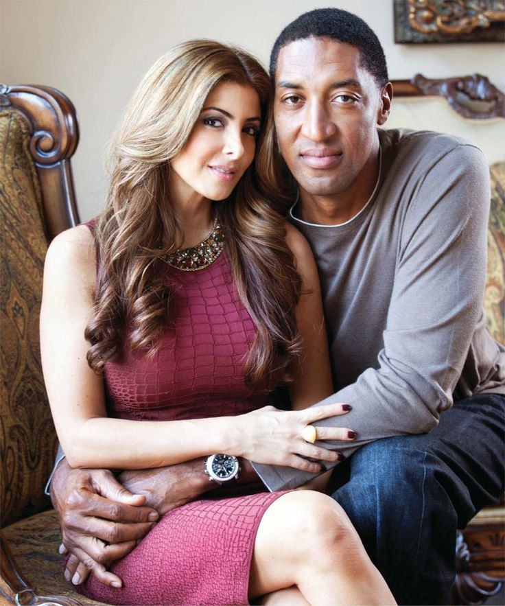Scottie and Larsa Pippen