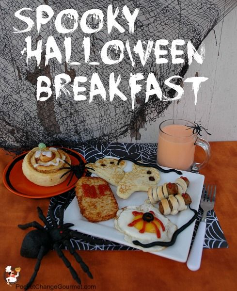 Halloween Breakfast Recipes on PocketChangeGourmet.com