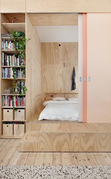 Un appartamento di 75 mq ispirato le architetture