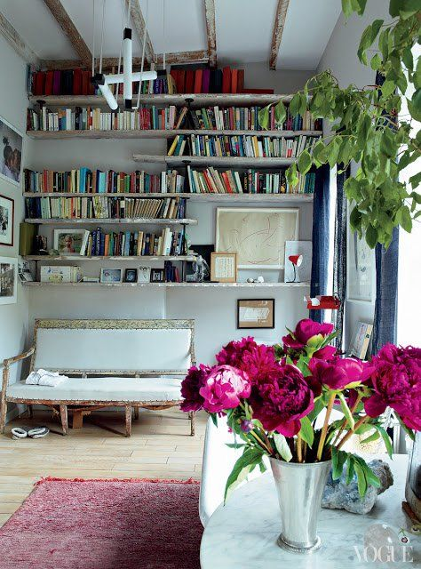 If+you+have+just+a+wall+you+can+create+beautiful+home+library