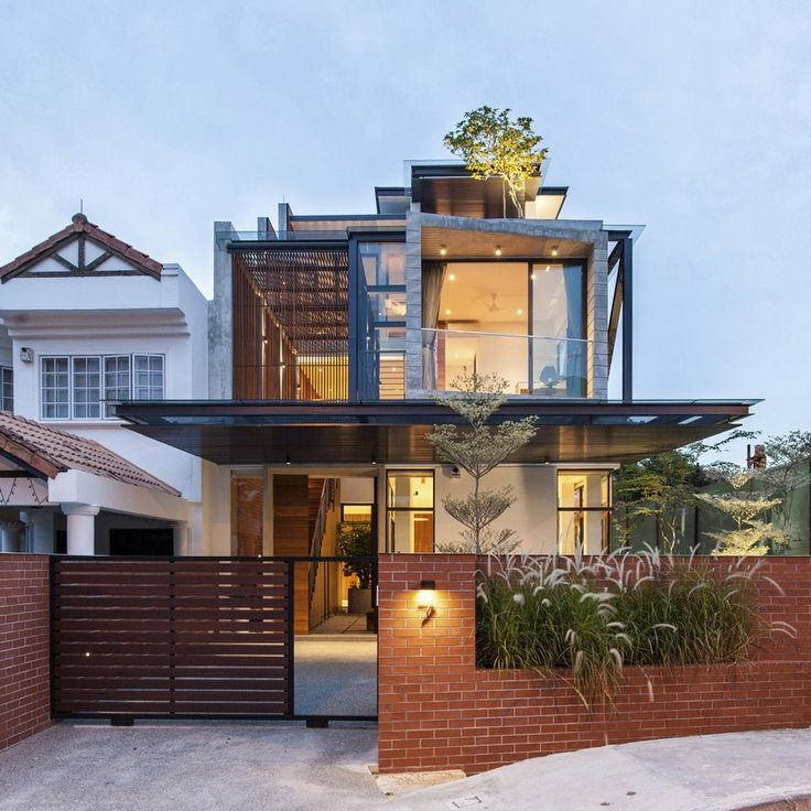 architecture modern house
