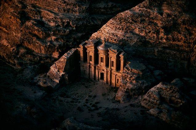 Al-Deir temple, Petra, Ma'An region, Jordan