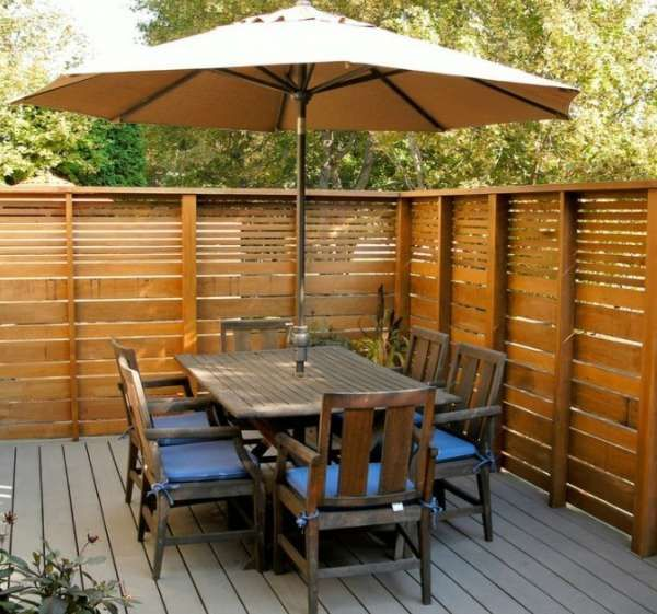 19 Idees De Clotures De Jardin En Palette Cloture Jardin Jardins En Bois Jardin Moderne
