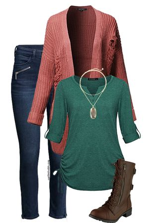 Stitch Fix stylist, I like this green top. Love the color and tiny details...side cinching, sleeves, and button at neck.